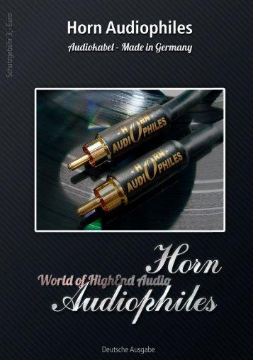 Katalog hier downloaden - Horn Audiophiles