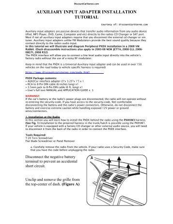 ford can bus 24 16 8 pin wiring diagram discount car stereo rh yumpu com Ford Audio Wiring Diagram Ford Explorer Wiring Harness Diagram