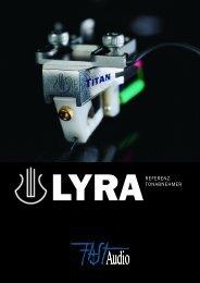 LYRA Broschüre - FAST Audio