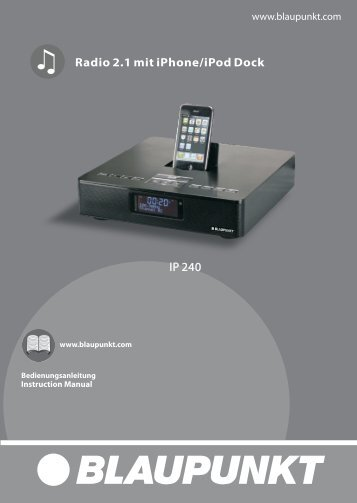 Radio 2.1 mit iPhone/iPod Dock - Blaupunkt
