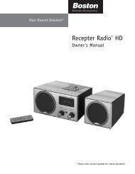 Recepter Radio® HD - C. Crane Company