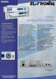 FM Stereo Radio Transmitter