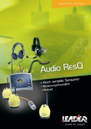 Broschüre Audio ResQ - Leader