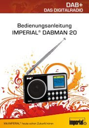 Bedienungsanleitung IMPERIAL® DABMAN 20 - Digitalbox