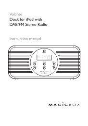Your DAB/FM radio - Magicbox