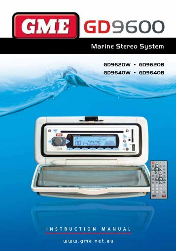 Marine Stereo System - GME