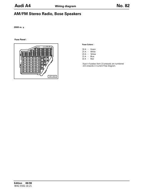 am/fm stereo radio, bose speakers - dj sures dj wiring diagram  yumpu
