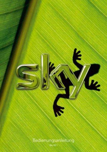 Bedienungsanleitung - Sky