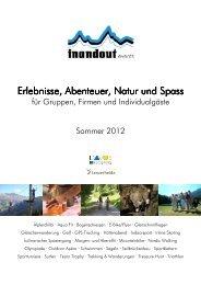 Standardprogramm Sommer2012 web2 - Inandout sport events