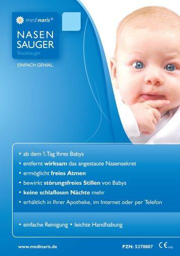 NASEN SAUGER - medinaris NASENSAUGER STAUBSAUGER