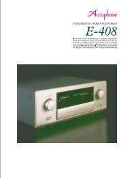 integrierter stereo-verstärker - Accuphase