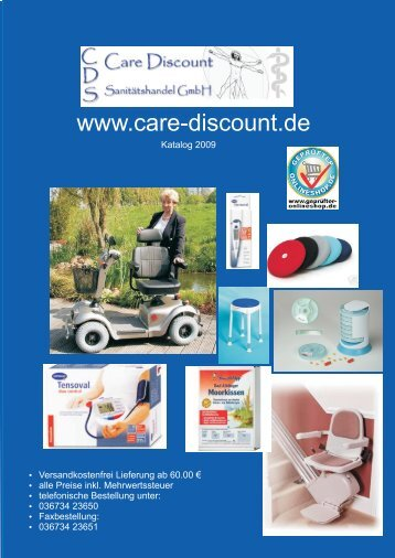 Downloadfähiger Katalog - Care-Discount