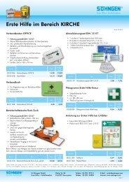 Erste Hilfe Kirche - Arbeitssicherheit und Gesundheitsschutz der ELKB