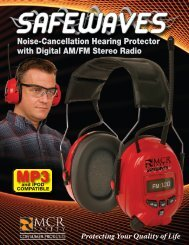 Noise-Cancellation Hearing Protector with Digital AM/FM Stereo Radio