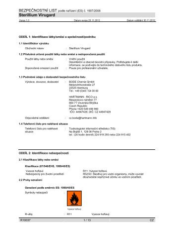 Sterillium Virugard - Bode