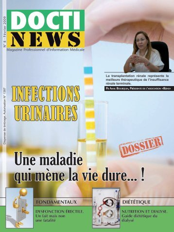 INFECTIONS URINAIRES - Doctinews