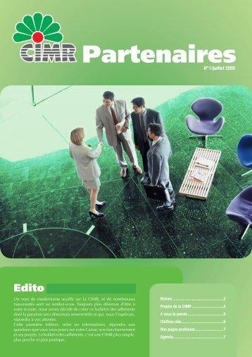 Partenaires - CIMR
