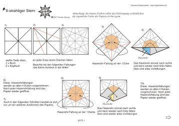 endlich der herrnhuter stern als origami modell. Black Bedroom Furniture Sets. Home Design Ideas