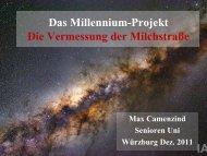 Das Millennium-Projekt Die Vermessung der Milchstraße
