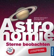 Leseprobe Astronomie - Sterne beobachten [pdf - 1,17 MB