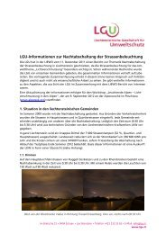 Zusammenfassung LGU-Recherchen (pdf) - Liechtensteinische ...