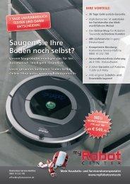 iRobot Produktflyer - VS Elektro