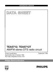 AM/FM stereo DTS radio circuit - ITS