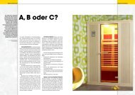 A, B oder C? - Schwimmbad + Therme