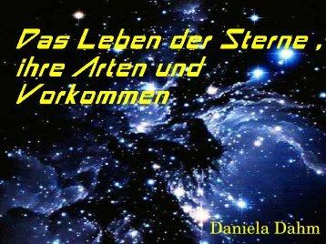 Das Leben der Sterne