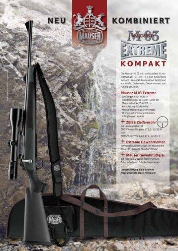 NEU KOMBINIERT - Mauser