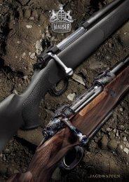 Mauser Jagdwaffenkatalog 2007 M03 / M98 deutsch
