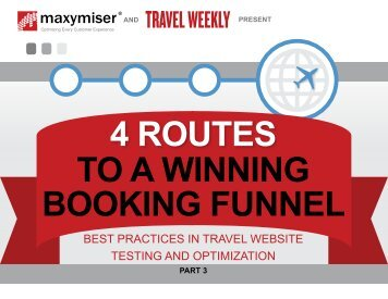 4 ROUTES TO A WINNING BOOKING FUNNEL
