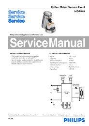 Coffee Maker Senseo Excel HD7840 - Expert-CM