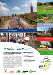 Brochüre - De Krim Texel