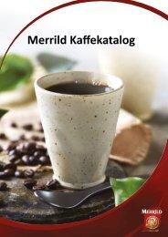 Kaffe katalog - Merrild