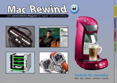 Mac Rewind - Issue 40/2008 (139) - MacTechNews.de - Mac Rewind