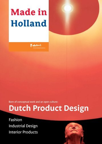Dutch Product Design - Netherlands Foreign Trade Agency