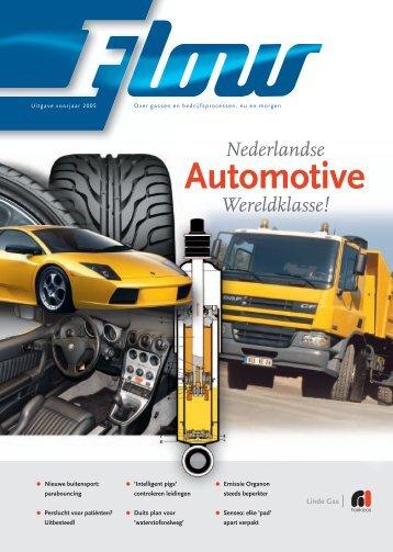 Flow magazine voorjaar 2005 - Linde Gas Benelux