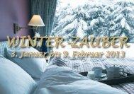 WINTER-ZAUBER - Betten Thaler