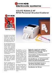 ICS-PZ R2844-Z HF RFID-Personal Drucker/Codierer