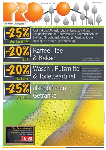 50 free Magazines from PRO.KAUFLAND.AT