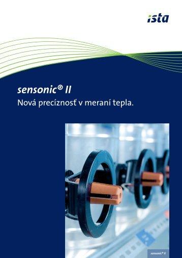 sensonic® II - ista.com
