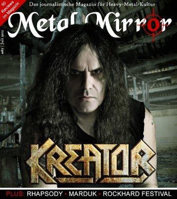 METAL MIRROR #67 - Kreator, Callejon, Luca Turilli's Rhapsody ...