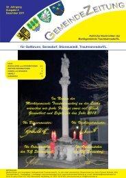 Gemeindezeitung - Trautmannsdorf an der Leitha
