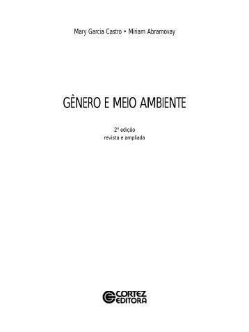 GÊNERO E MEIO AMBIENTE