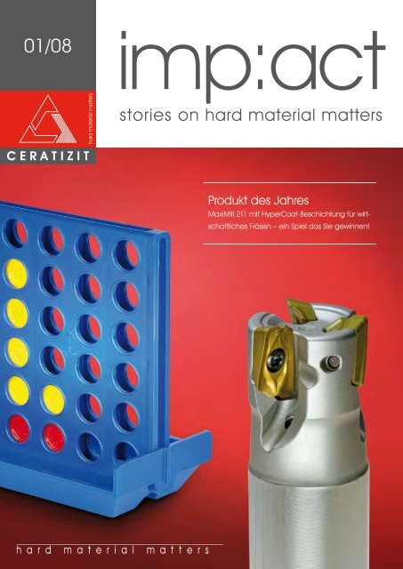 stories on hard material matters - Ceratizit S.A.