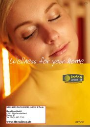 Wellness for your home - MenoShop GmbH