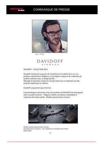PR Davidoff Spring-Summer 2012 FR - Menrad