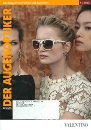 Das Magazin für Sehen und Aussehen - Menrad