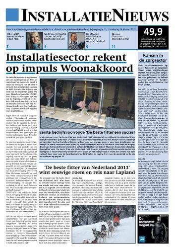 Installatiesector rekent op impuls Woonakkoord
